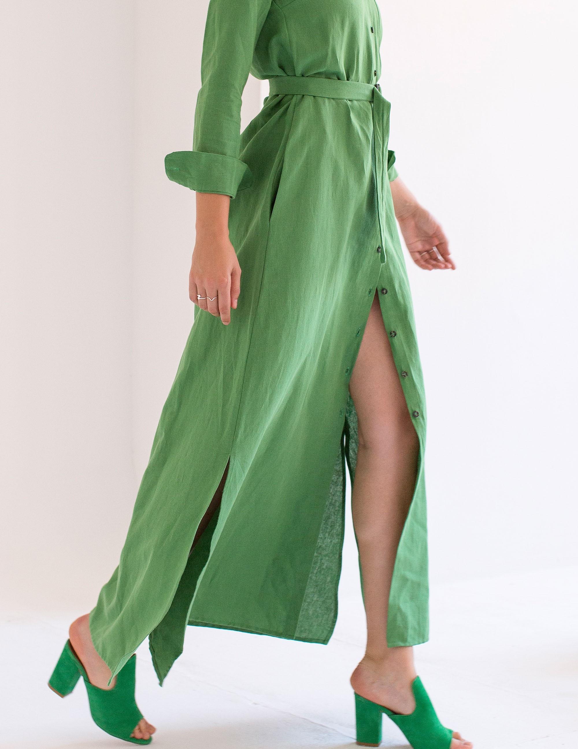 SELECTION Vestido - BAMBOO