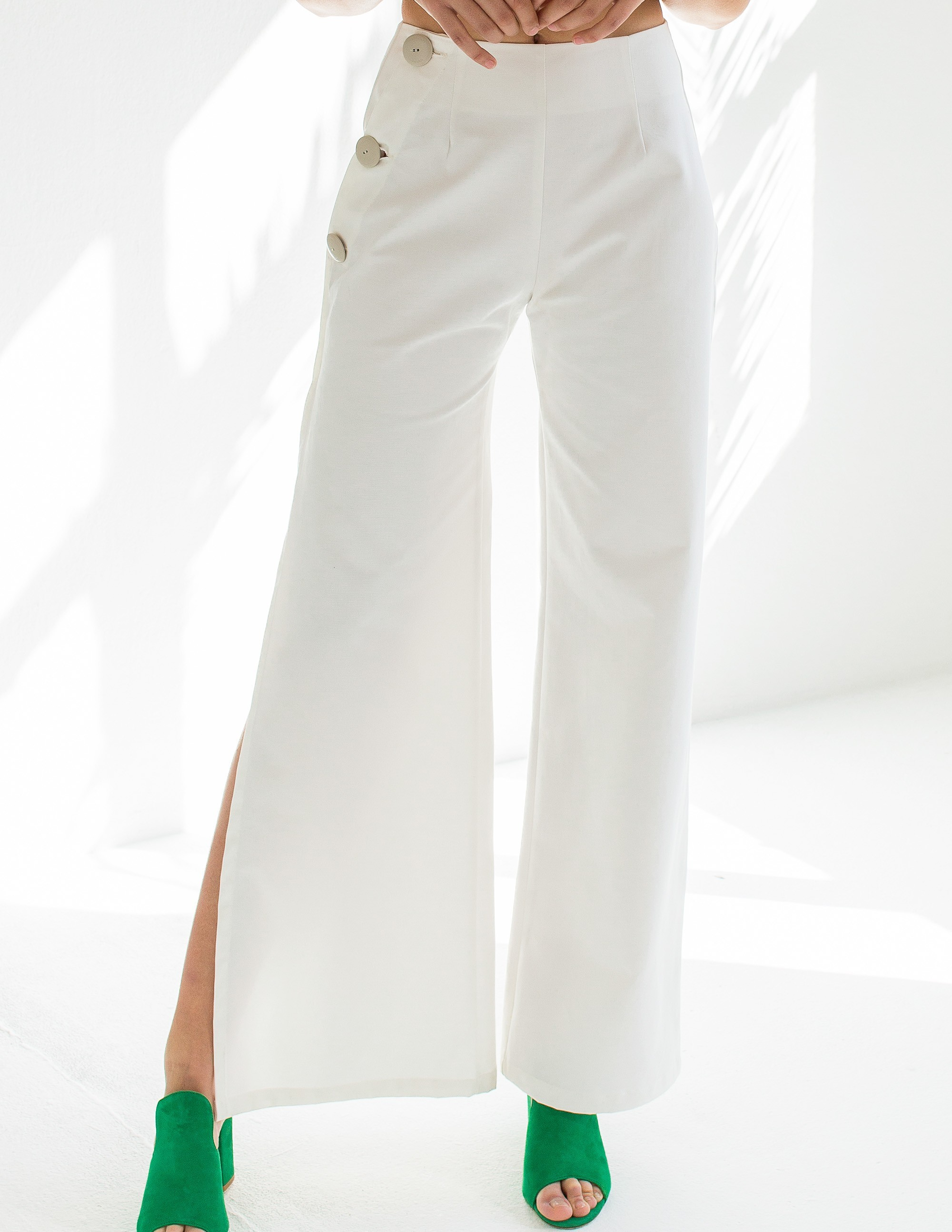 POSITANO trousers - PURE