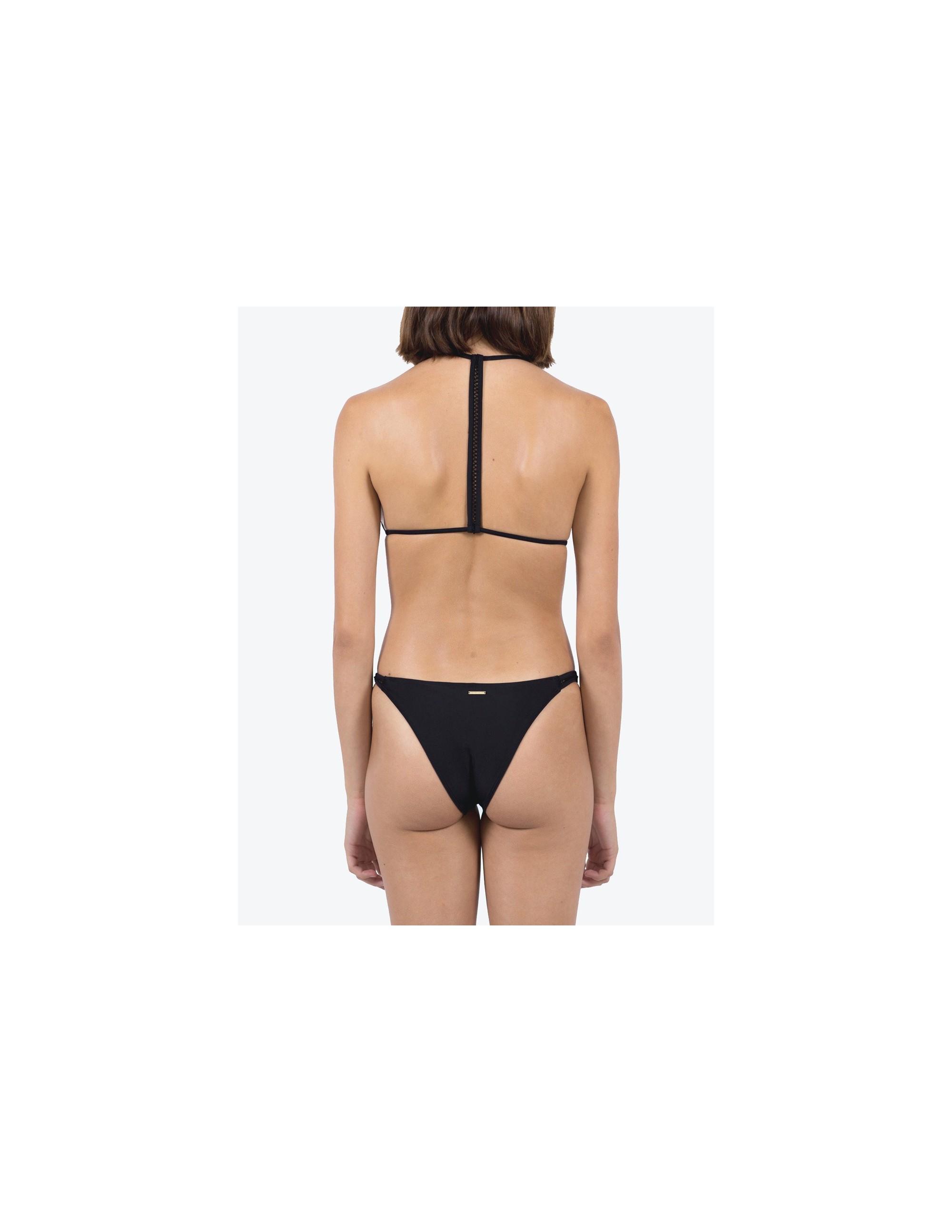 ANAMUR bikini top - MATTE BLACK