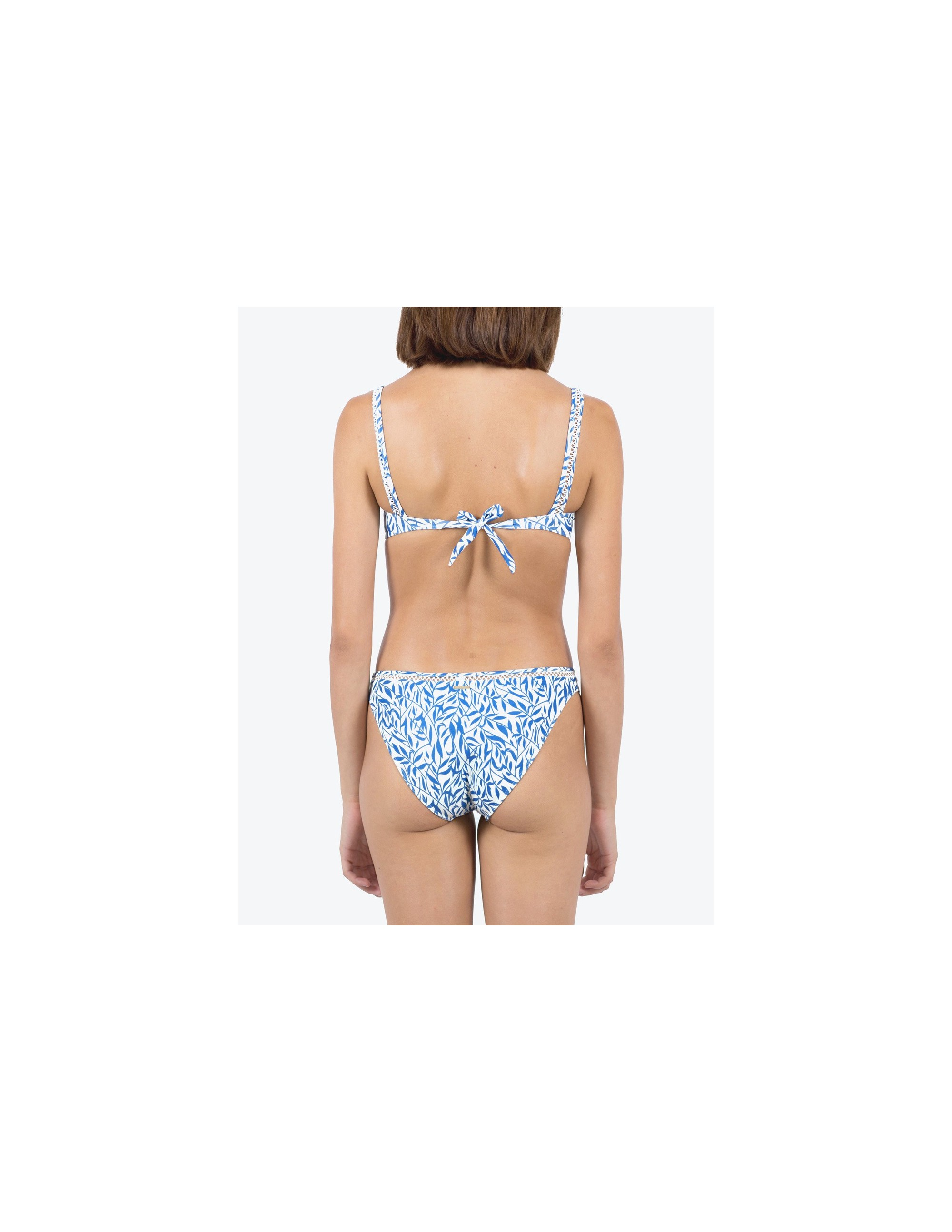 BELLA bikini bottom - FLORAL BLUE
