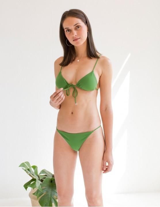 Laser cut bandeau bikini top MONURIKI