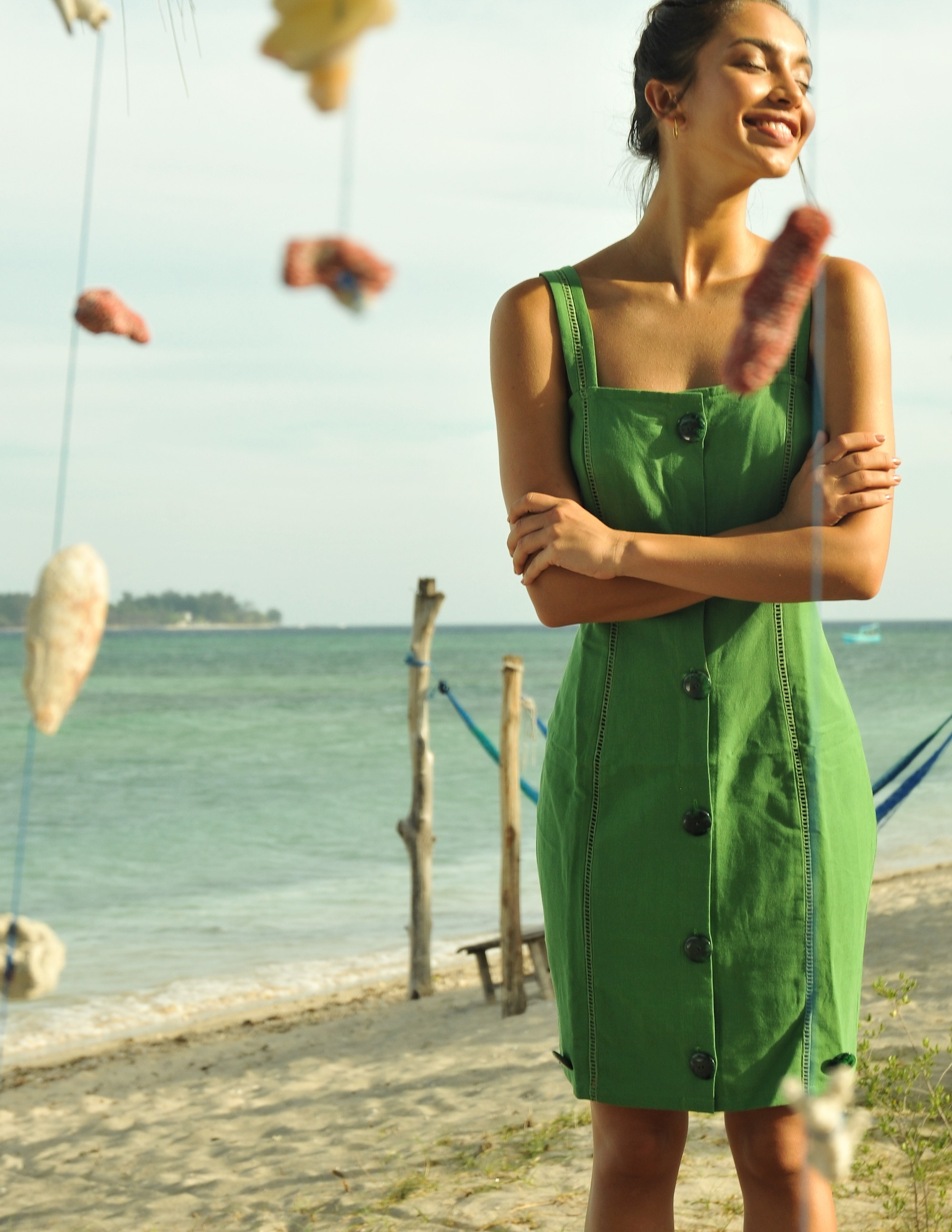 RAVELLO dress - BAMBOO