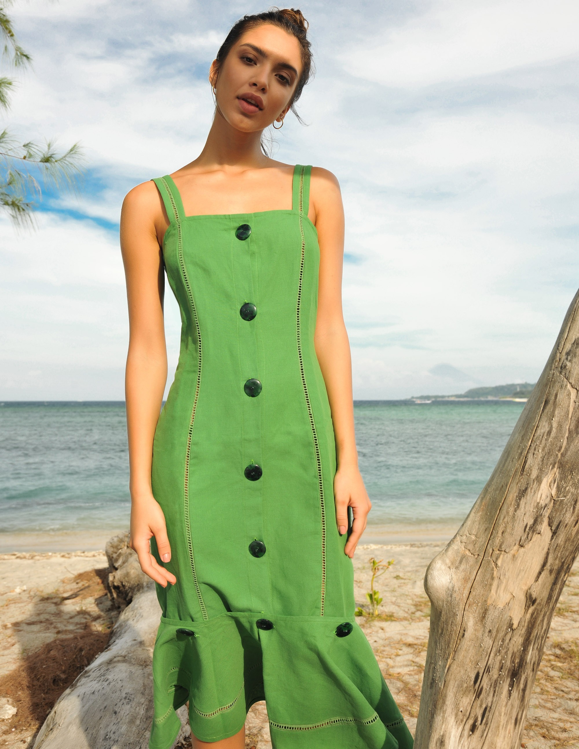 RAVELLO dress - BAMBOO