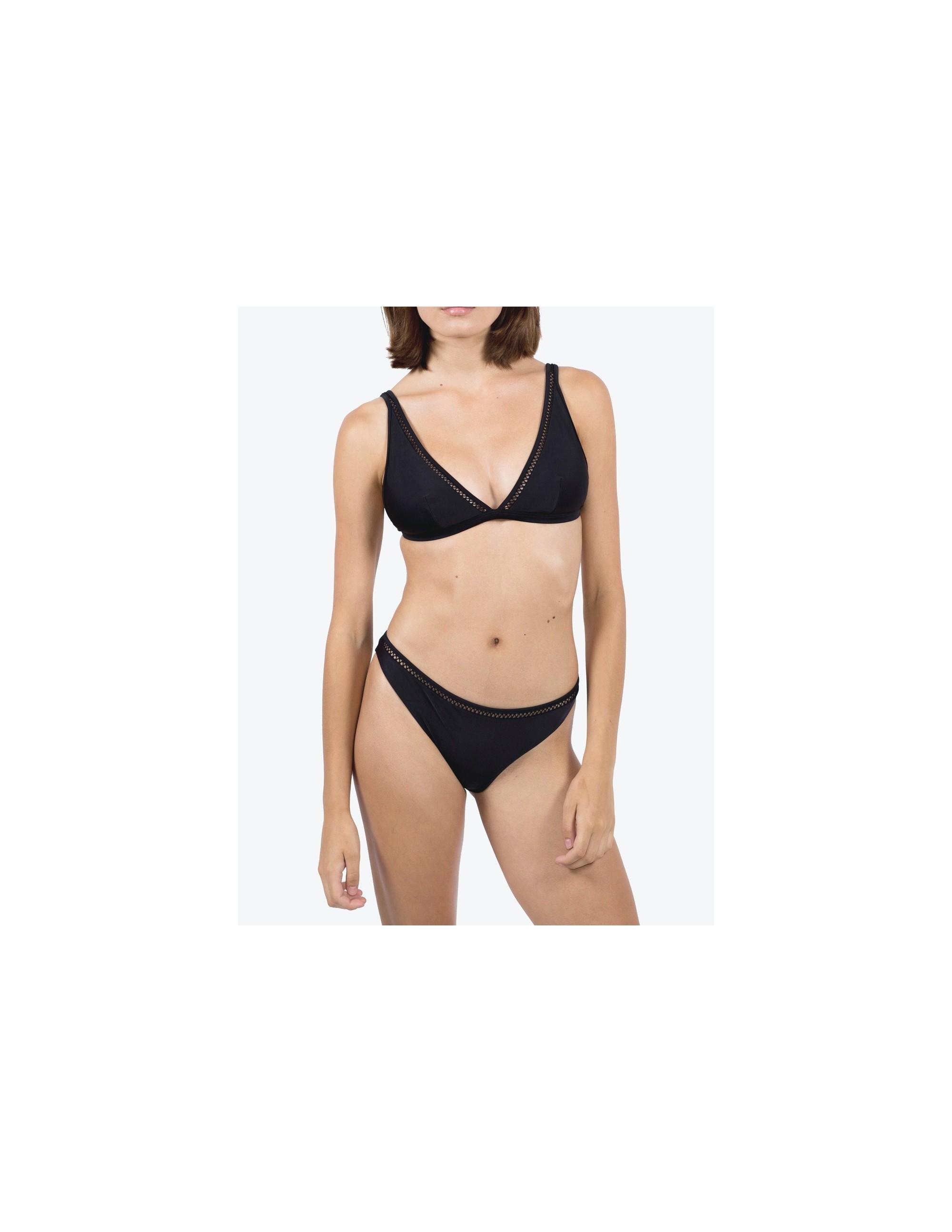 BELLA bikini bottom - MATTE BLACK