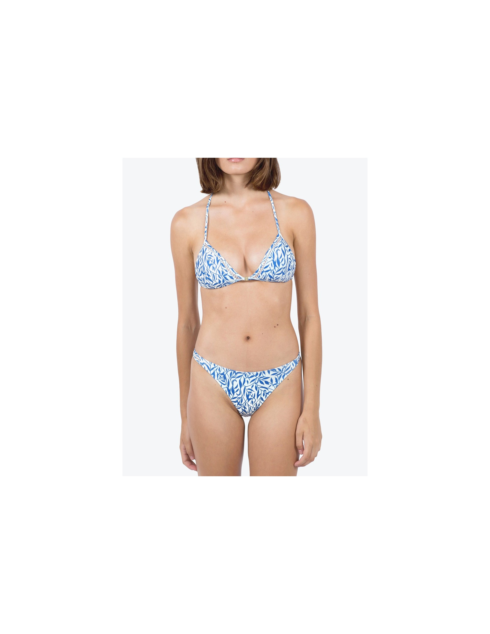 ANAMUR bikini bottom - FLORAL BLUE