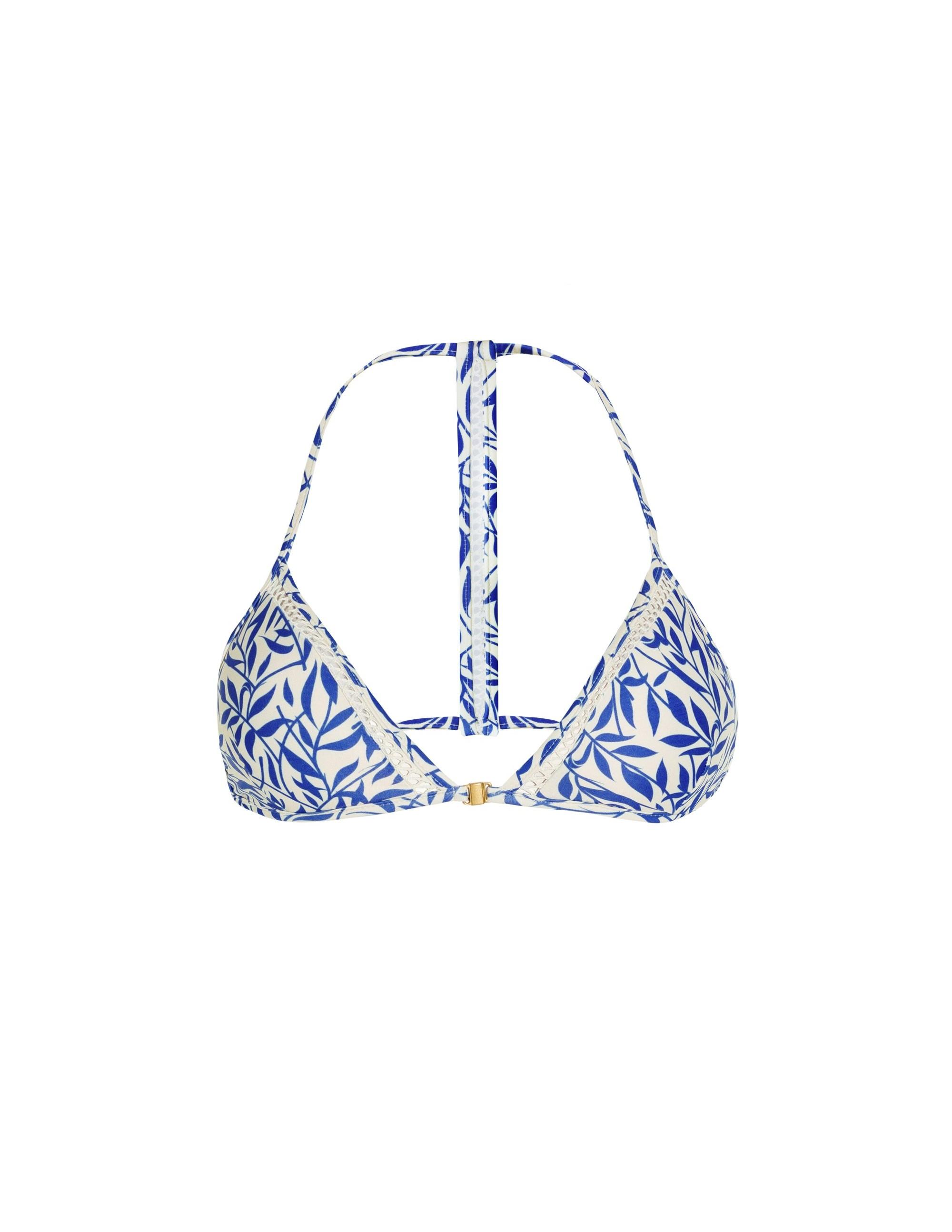 7b3c4f17f3c4e Triangle bikini top Anamur with crochet details