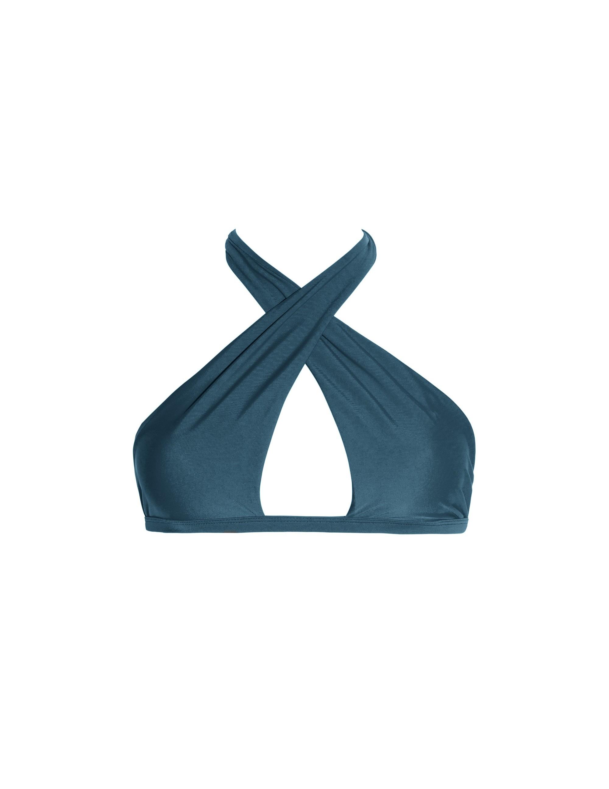 CONTA bikini top - DEEP GREEN