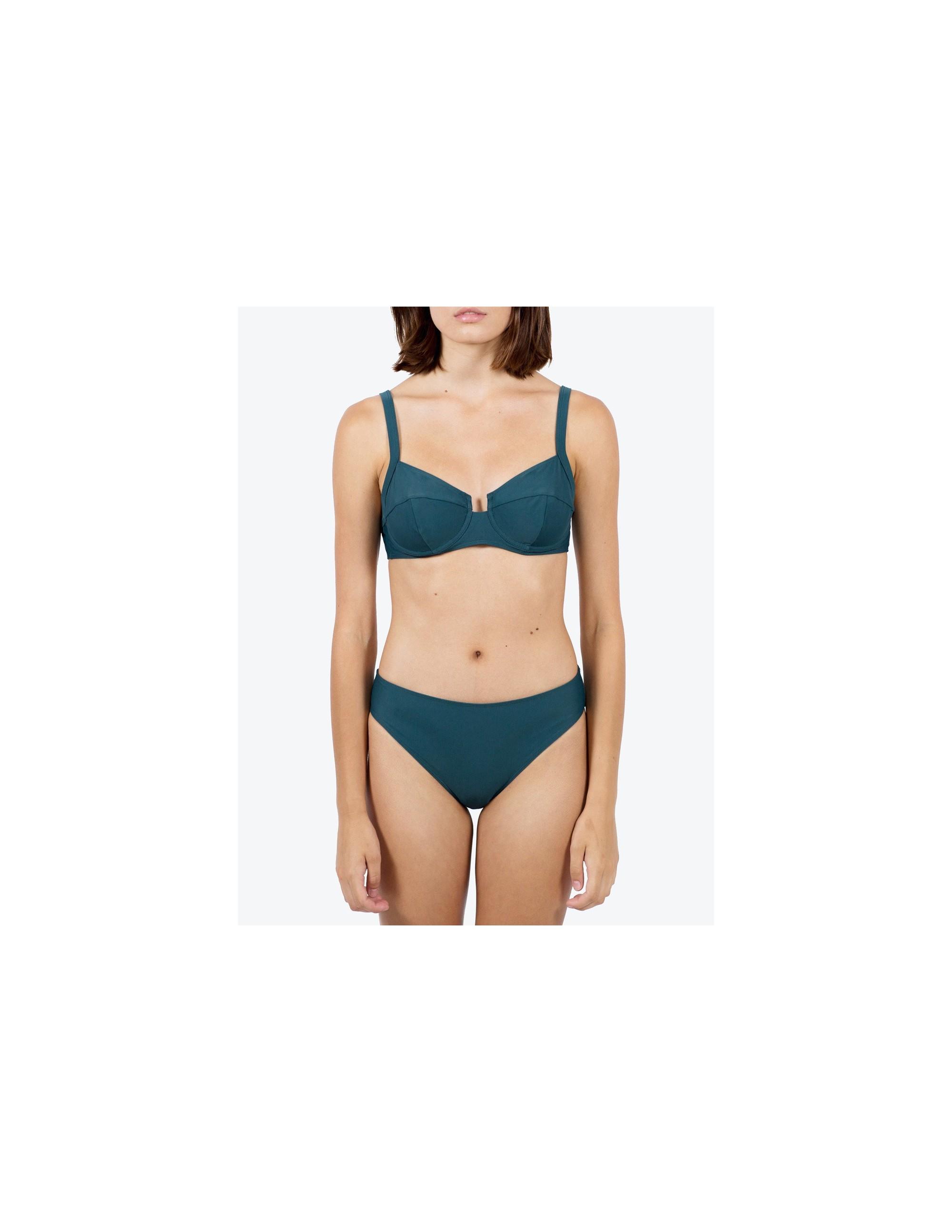 NAOS bikini top - DEEP GREEN