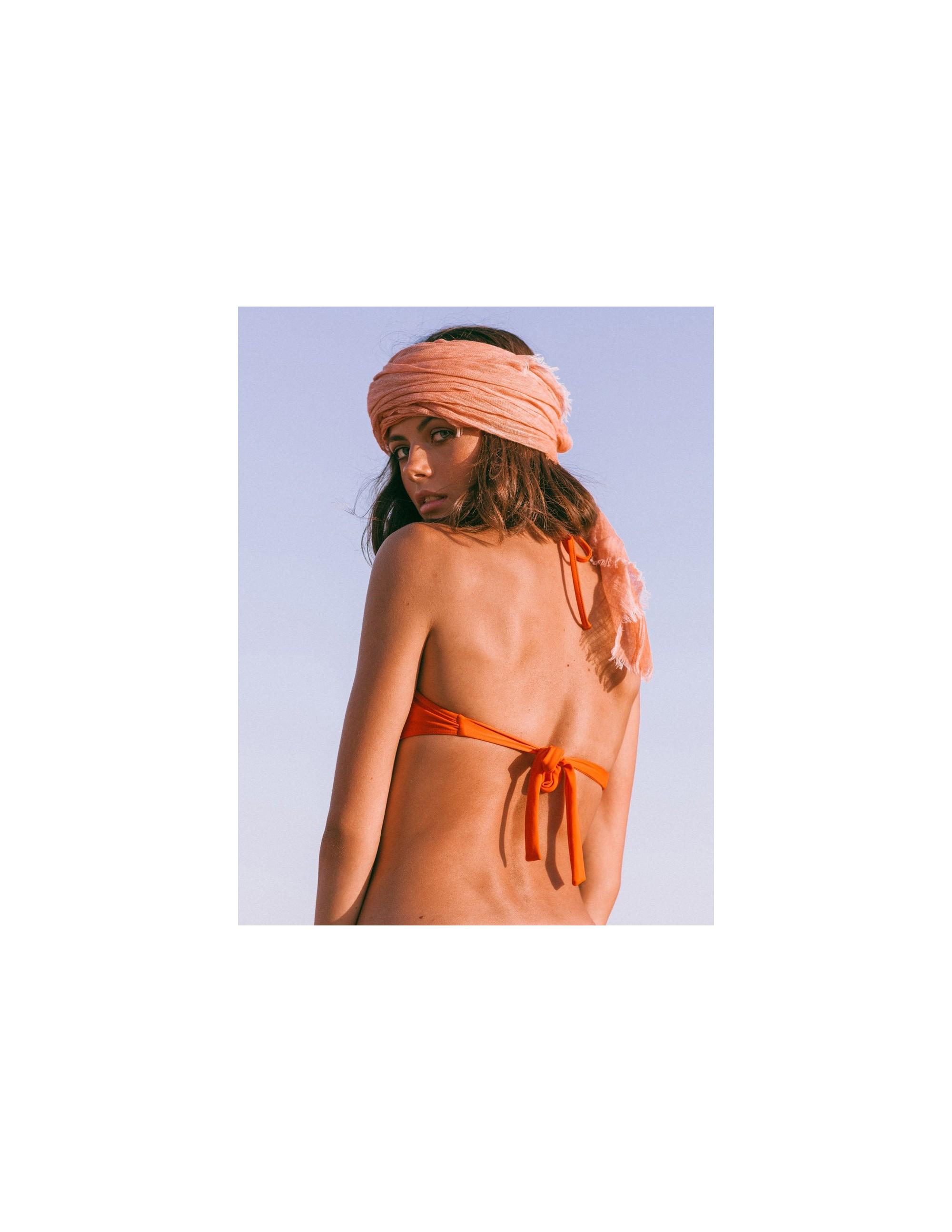 SAONA bikini top - CHARACTER RED