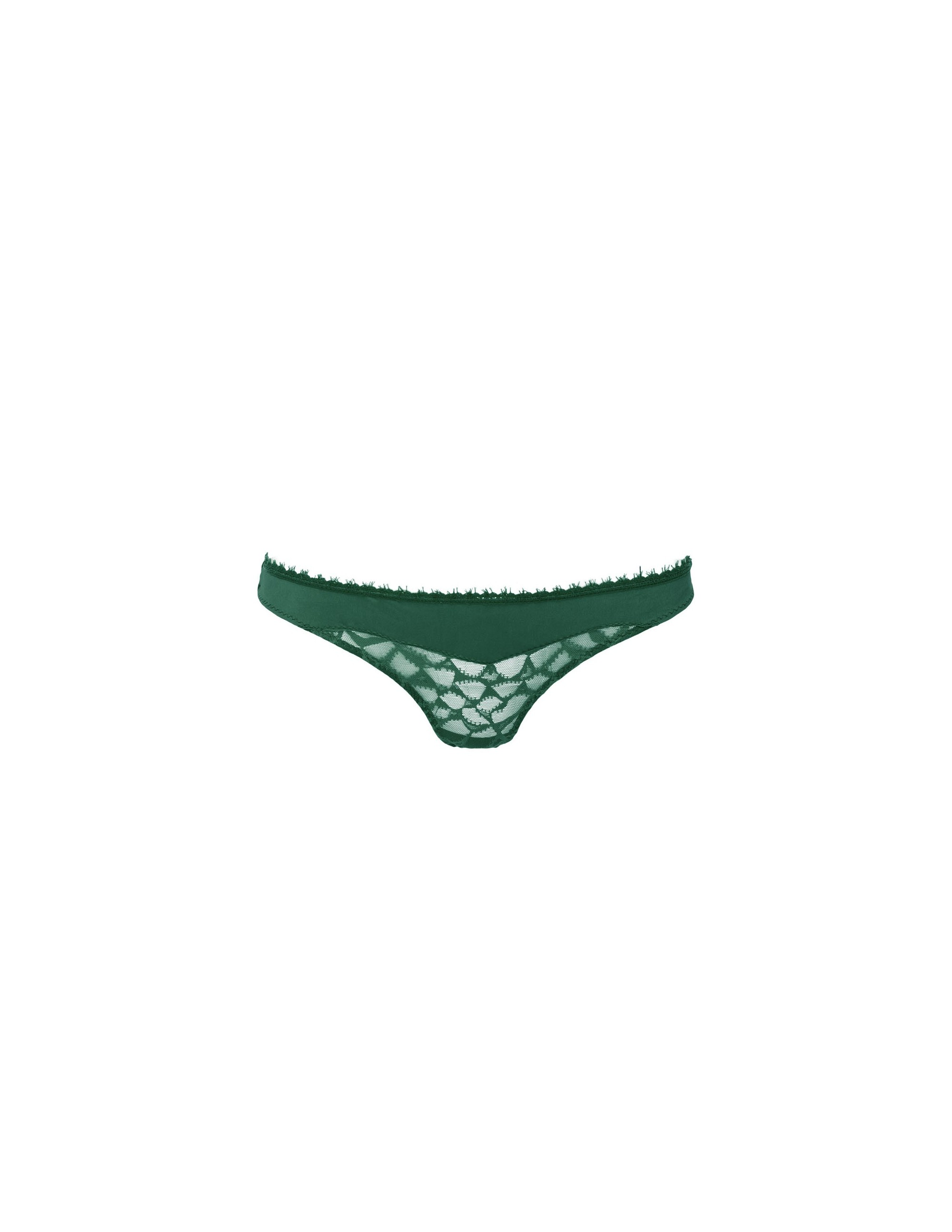TULIP Panties in french lace - FOREST - RESET PRIORITY
