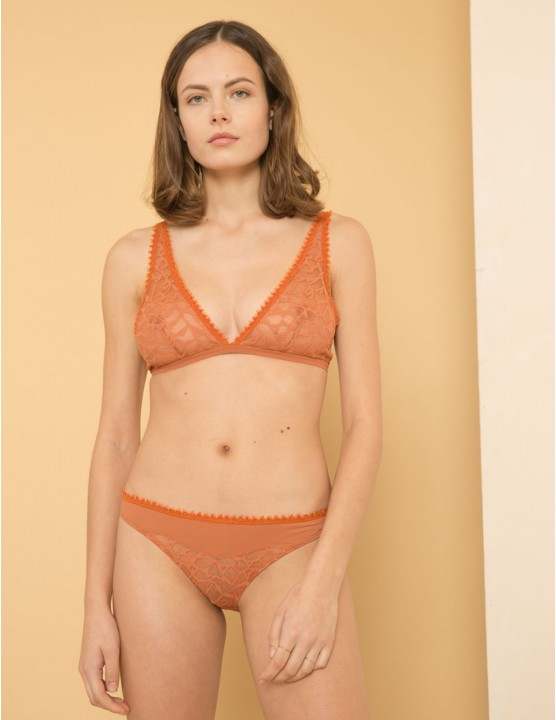 TULIP Panties in French lace - AUTUMN - RESET PRIORITY