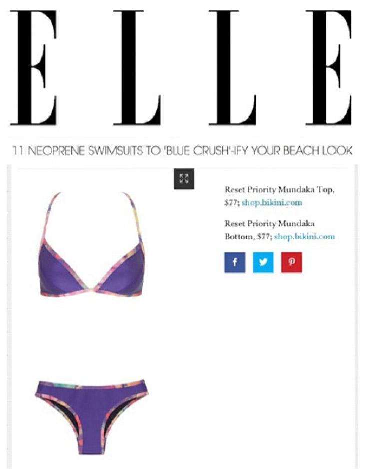 Bikini.com Mundaka Neoprene Bikini Reset Priority