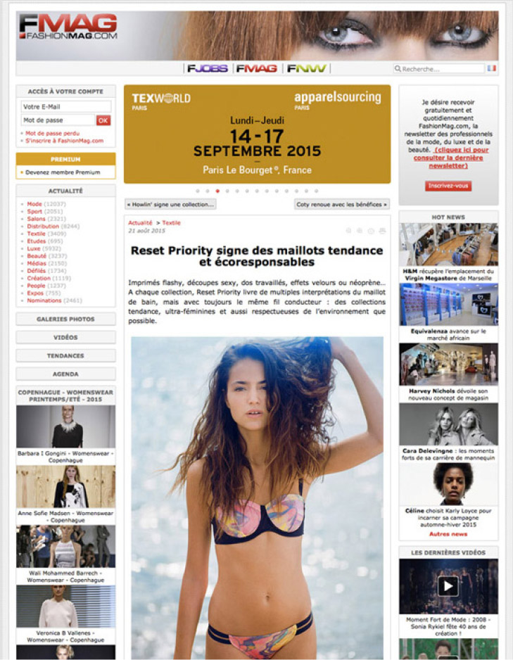 Fashion Mag France Reset Priority