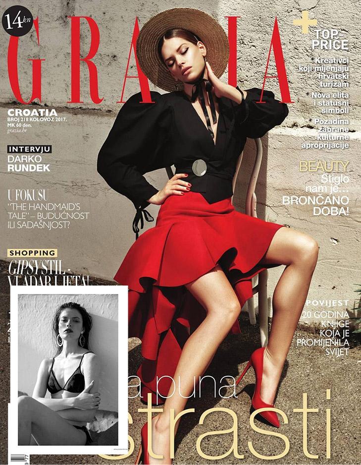 Grazia Magazine 2017 RESET PRIORITY