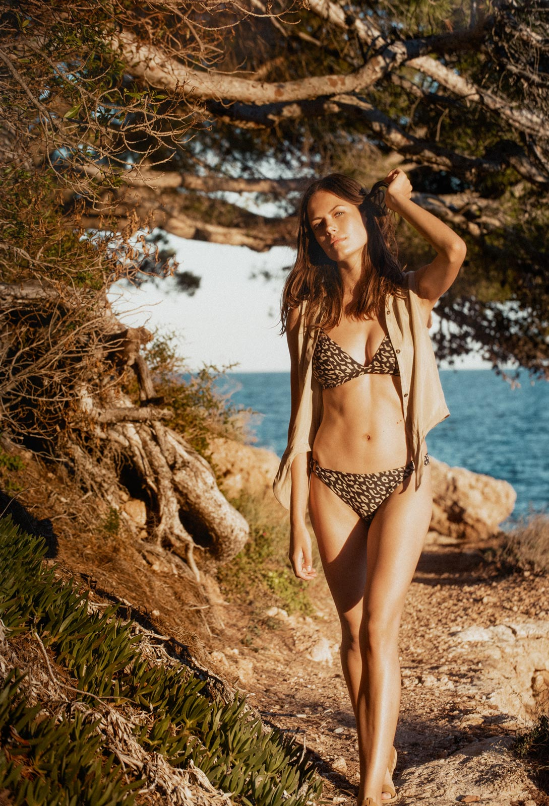 Songo shirt Nude Bawe bikini Leopard by RESET PRIORITY