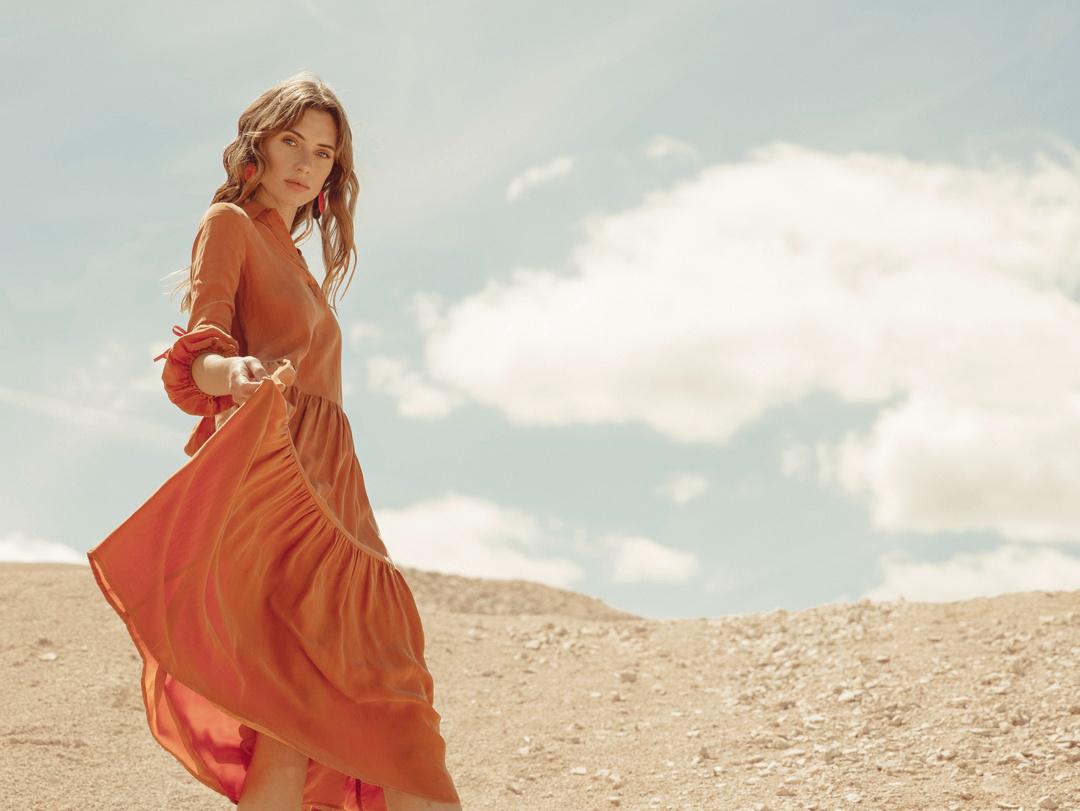 Attraction Dress Sweet Cinnamon RESET PRIORITY
