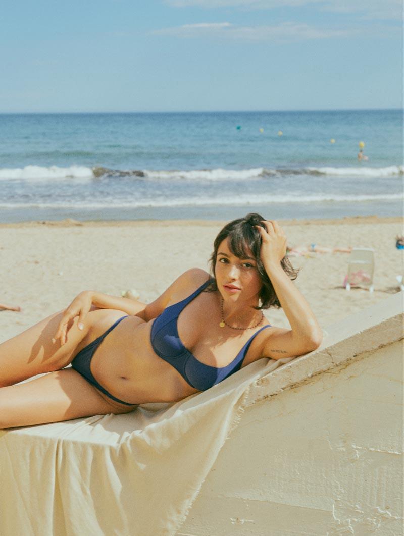 Bikini con aro Kigo - blu notte - RESET PRIORITY
